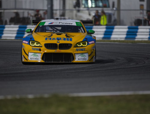 TURNER No. 96 BMW M6 GT3 READY TO ROLL AT SEBRING